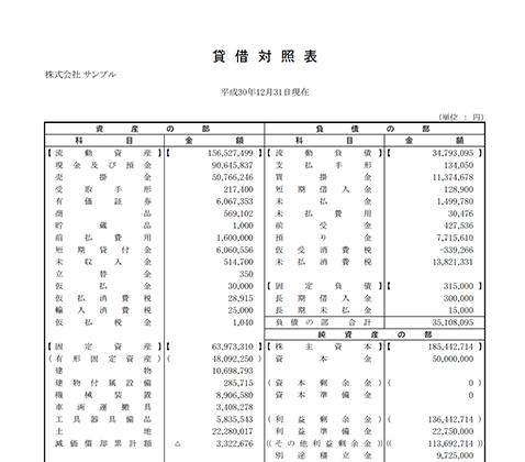 予測税額検討表